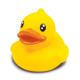 Promotional custom design plastic pvc material small rubber ducks