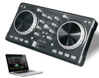 dj pro lighting controller Portable 2 Channel Best light DJ controller 2017 with Virtual Mini DJ Midi Controller