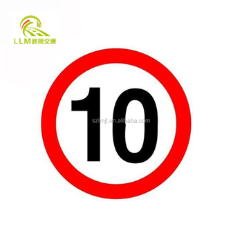 Solar LED Traffic Sign Board Speed-Limit and solar powered traffic sign