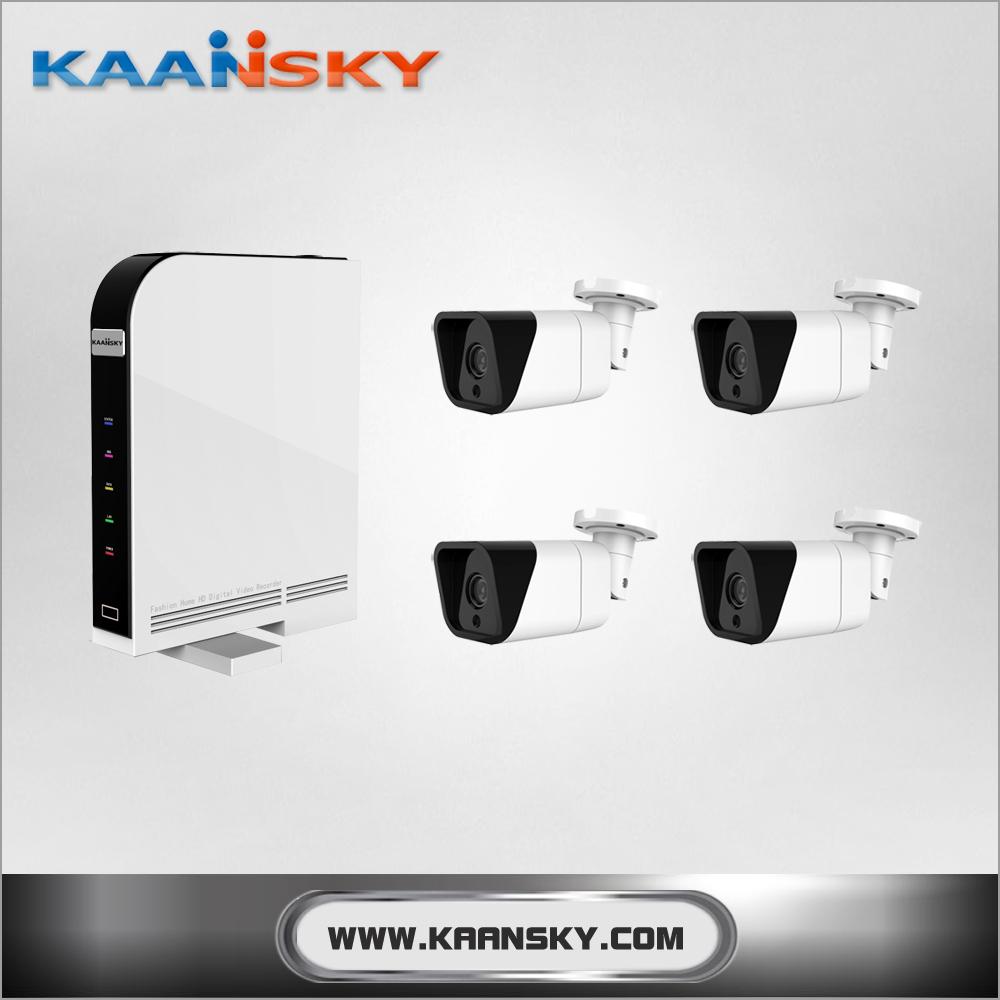 Kaansky 4ch H.264 Ahd Dvr Combo Cctv Camera Kit 720p 1mp Ahd Cctv ...
