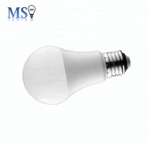 Promotion product aluminum in plastic A60 9w E27 led light