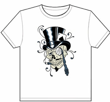 c3e1d0310 latest t- shirts screen printing design for men skull series printed shirts