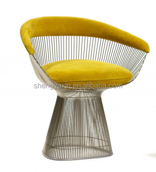 elegant Reproduction Platner Leisure Arm Chair with Soft Cushion