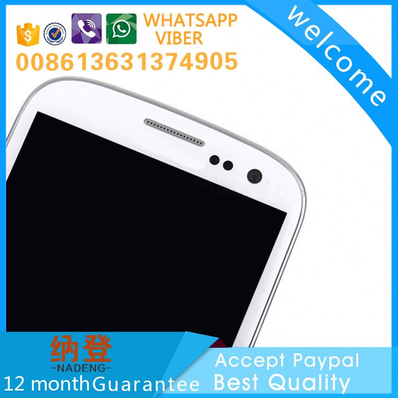 made in China lcd display for samsung galaxy s iii (s3) gt-i9300 accept paypal