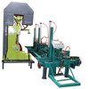 Cutting Log Used 40'' Vertical Band Saw Machine With Log Carriage
