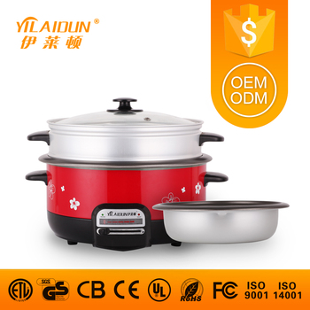 OEM/ODM brand red sell ceramic cast iron crock pot &casserole manufacturer