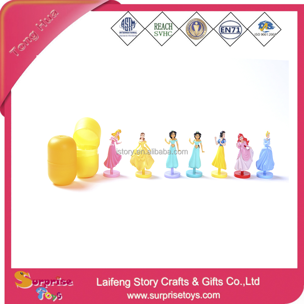 Promotional FAMA Factory Plastic Capsule Princess Girl Toy