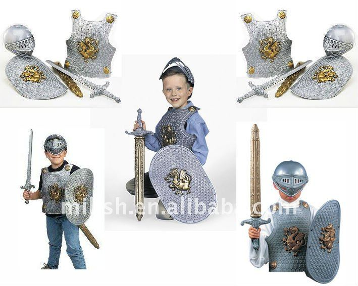 halloween party knight children helmet armor/armour for kids MAC-0449