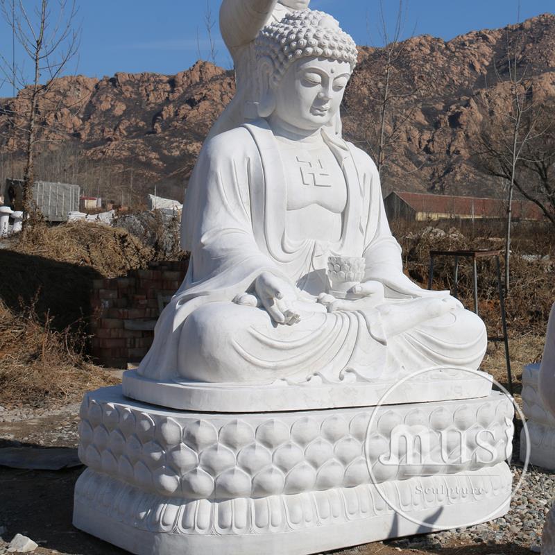 Catálogo de fabricantes de De Porcelana Blanca Estatua De Buda de ...