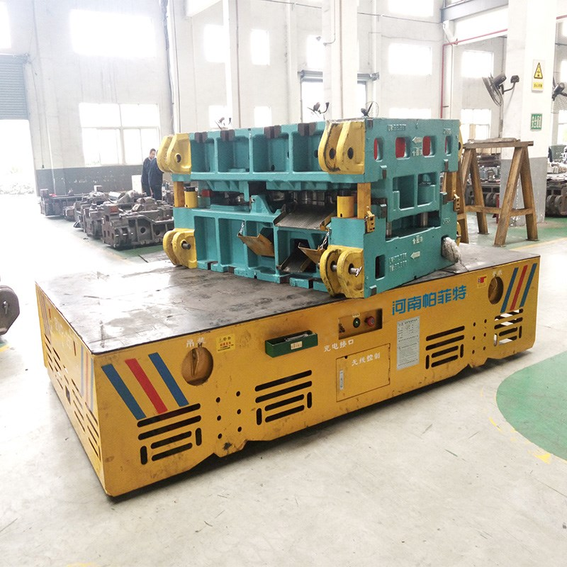 die handling transfer car electric rail vehicle factory material handling technology