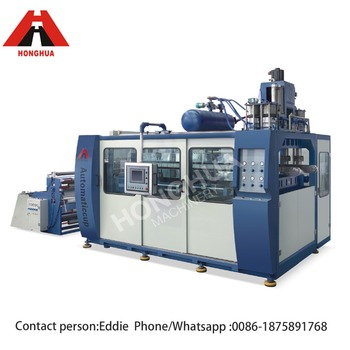 plastic cup machine PP PS PE PET material