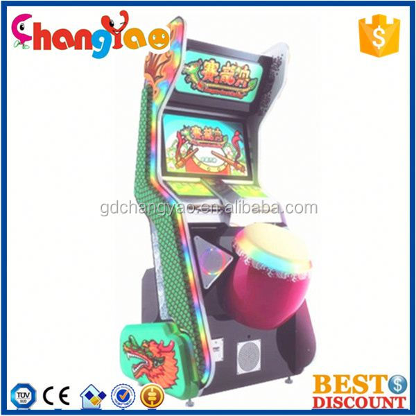 Classical Dragon-Boat Racing Lottery Video Game Making Machine Supplier