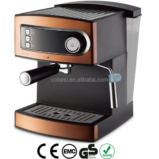 cheapest Domestic 1.6L 15 bar ULKA Italy pump detachable water tank coffee machine espresso