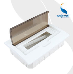 SAIP/SAIPWELL Hot Sales 257*310*76mm 24 Ways With Lid Waterproof Mcb Distribution Board