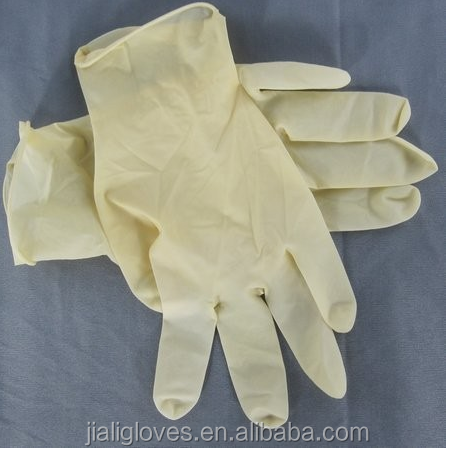 medical grade powder-free dental obstetric disposable latex examination gloves