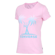 Оригинальный Новое поступление 2020 Converse Для женщин футболки с коротким рукавом спортивная(Китай)