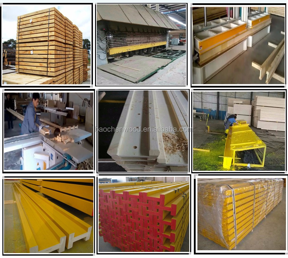 Cheap Price Formwork H20 Timber Beam With High Quality