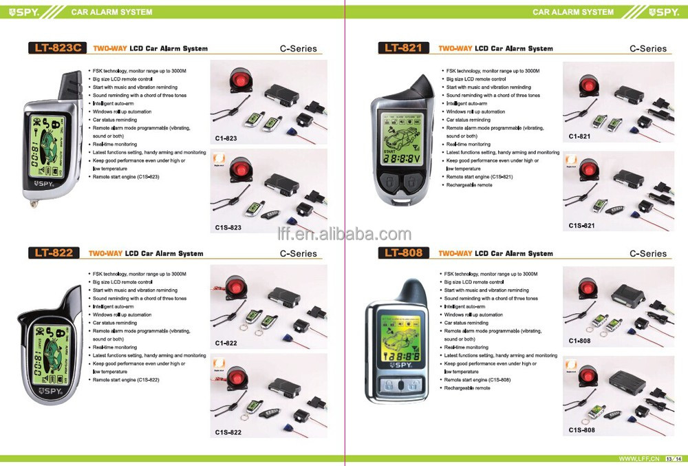 popular 2 way lcd car alarm system,with remote engine start functionpopular 2 way lcd car alarm system, with remote engine start function