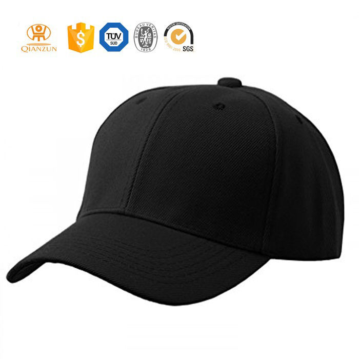 Wholesale Custom Flexfit blank 6 panel high quality baseball cap
