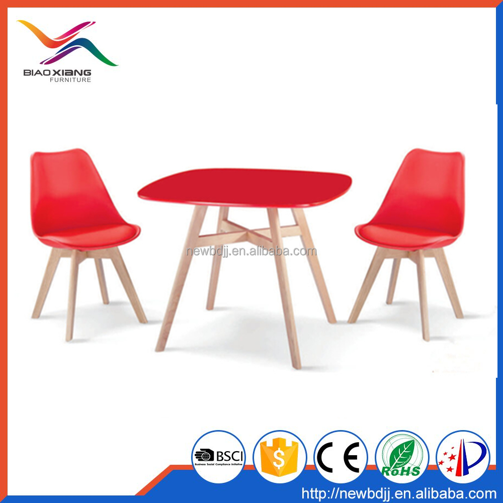 2015 wood dining room table sets, expandable dining table and chairs