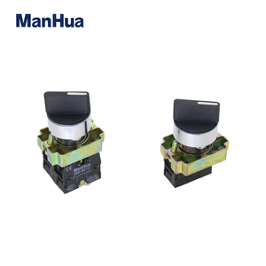 Manhua Hot Product 220VAC Rotary Selector Switches with Circular Head