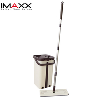 New Style Easy Cleaning 360 Degree Magic Flat Mop With Bucket