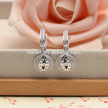 Engagement Wedding Party Design white Cubic Zirconia ladies jewelry set