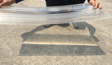 Customized size linear fresnel lens for sale