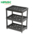 supermarket custom made plastic resin Ventilated Storage Shelving Unit for mineral water promotion