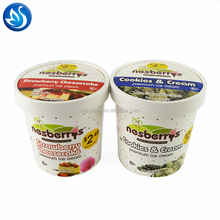 Hot sell ice cream paper tubs