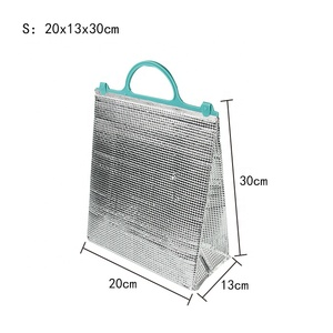2018 best seller High quality simple aluminium foil Insulated cooler bag