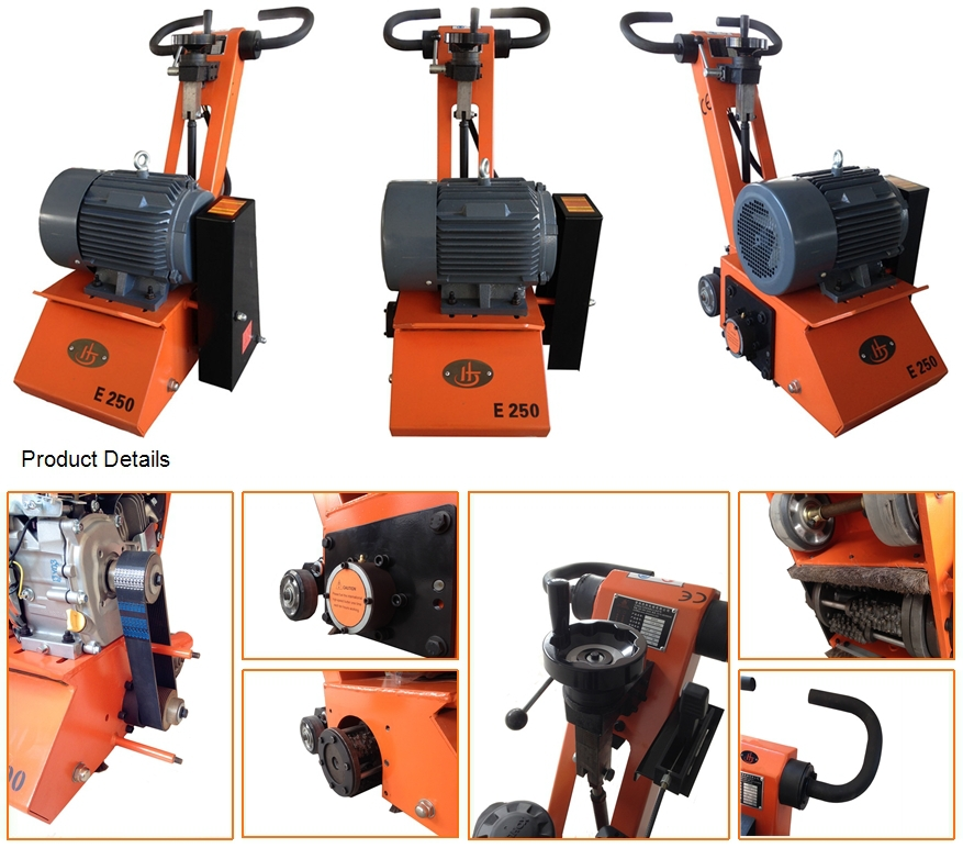 Lovely Simens Engine For Concrete Floor Scraper Machine And Asphalt Floor Scraping  Machine With CE(JHE