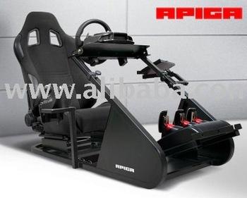 Apiga Ap1 Professional Racing Wheel Cockpit Simulator - Buy Racing  Simulator Product on Alibaba com
