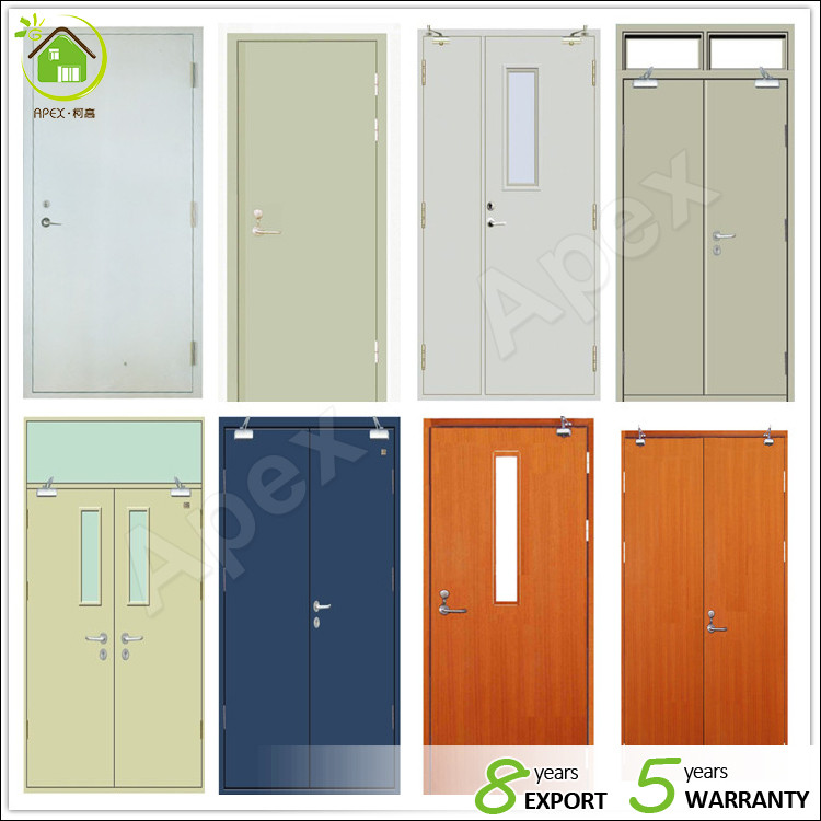 Fire rated door with vision panel buy fire rated door for 1 hour fire rated wood door