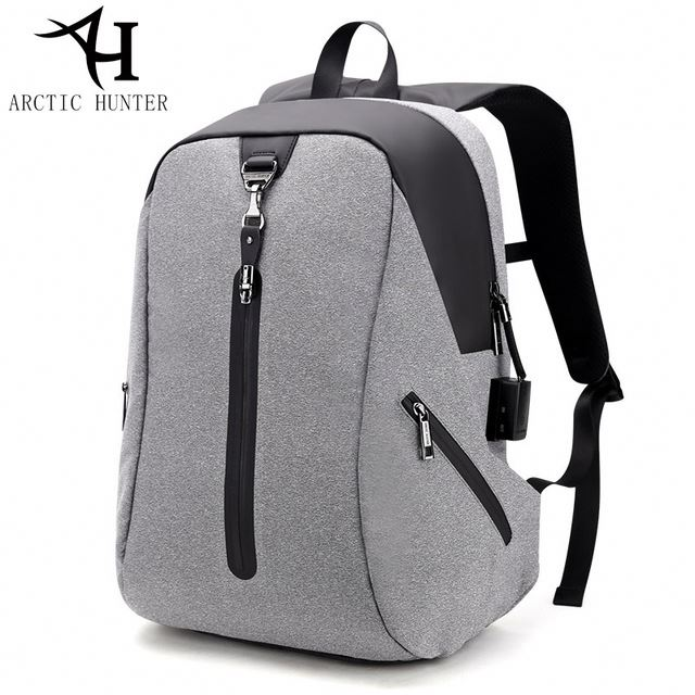 ARCTIC HUNTER USB Anti-theft nylon smart backpack <strong>school</strong>