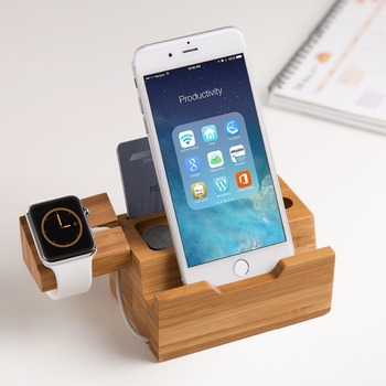 Family Use Custom Made Wood Office Gift Wood Diy Cell Phone Stand With Good  Quality