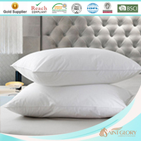 Best quality super firm white cheap feather down pillow insert