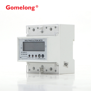 Din Rail With Remote Control Function Rs485 Single Phase Prepaid Electric  Meter