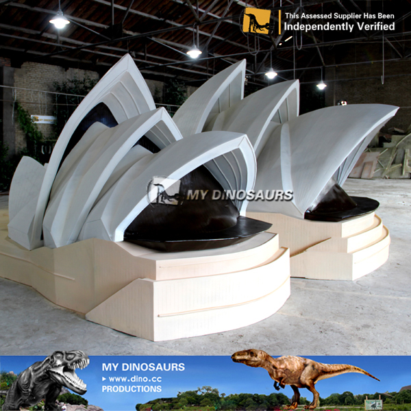 My-dino scale models miniature building Sydney opera house replicas
