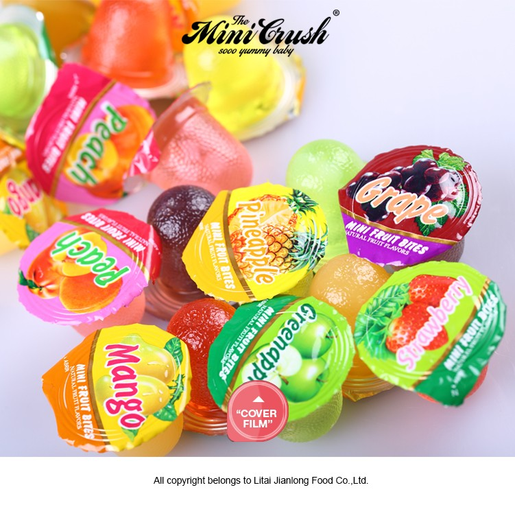 Halal Assorted Mini Fruit Flavoured Pudding Jelly