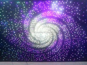 Luci in fibra ottica cielo stellato lampada decorativa decorazione
