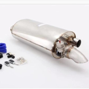 Hot sale new style exhaust muffler electric with remote valve control kit
