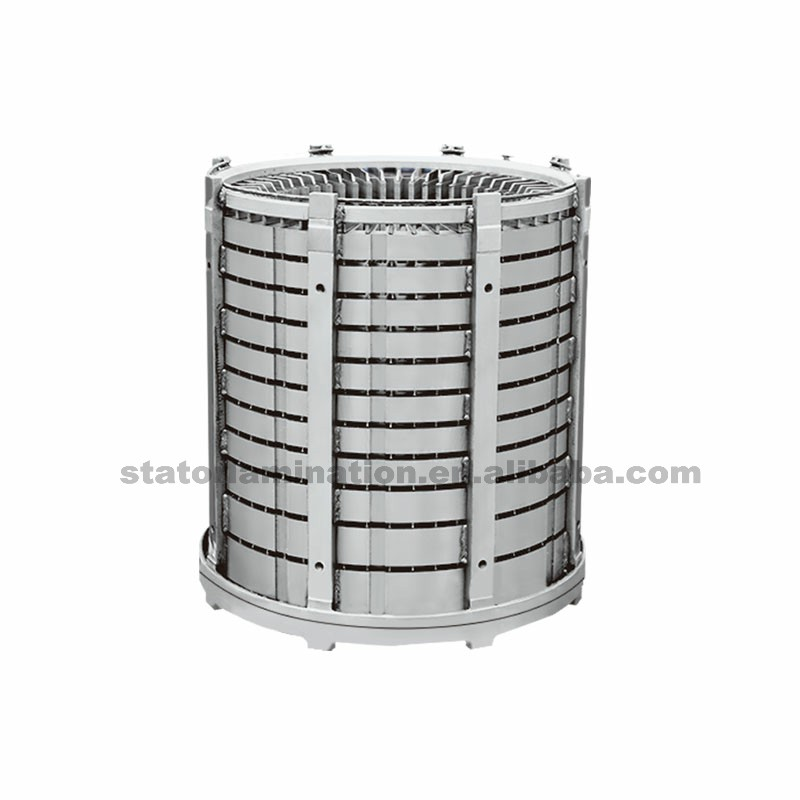 Generators stator stack assembly