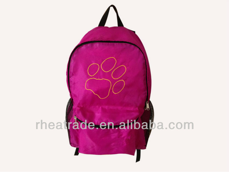 promotional hot sale school bag for girls back pack