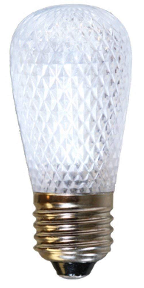 American Lighting S14-LED-PW LED S14 Light Bulbs, Ideal for String Lights, Medium Base, Pure White, 25-Pack