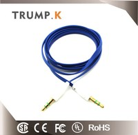 2016 high quality 3 5mm to aux cable 3.5mm audio cable