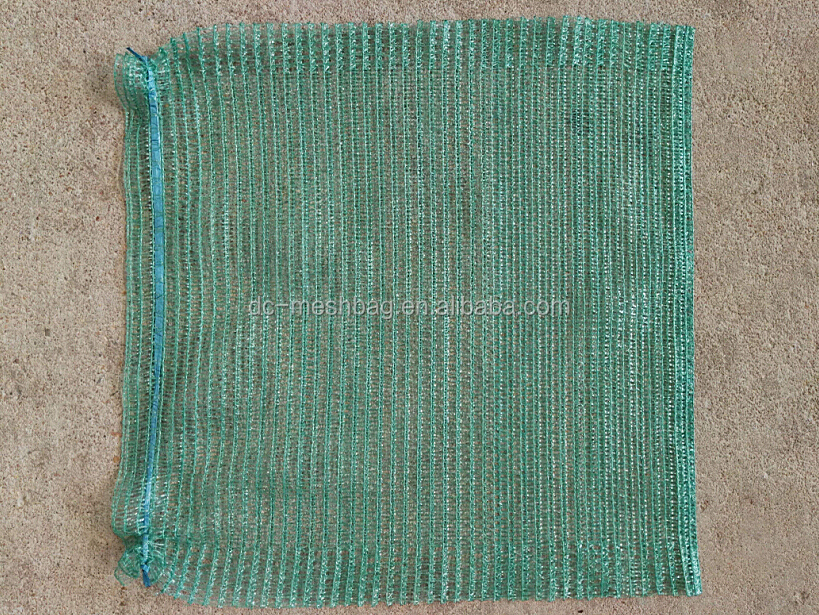 New product 45x52cm Green vegetable mesh bag for packing cabbage