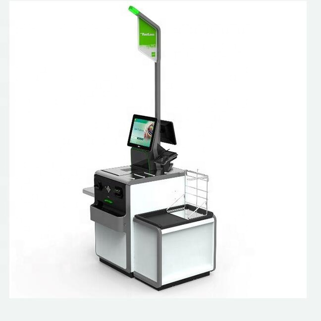 Supermarket shoppingmall Self check-out automatic payment KIOSK