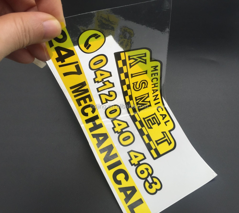 Cetak logo anda sendiri semi transparan stiker dengan bentuk kustom hb 095 buy semi transparan stickerstiker transparantransparan stiker yang jelas