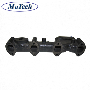 Manufacture Iron Casting Powerful Tractor Exhaust For Engine Parts